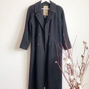 Vintage Tristan & Iseut Wool Cashmere Blend Coat S
